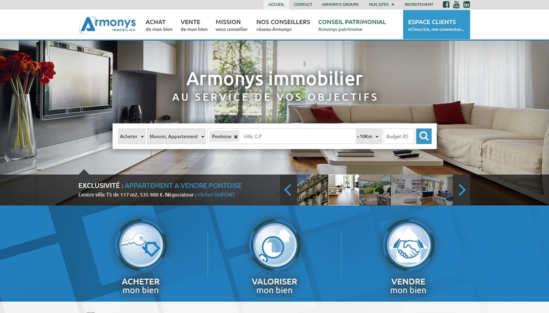 photo site armonys immobilier