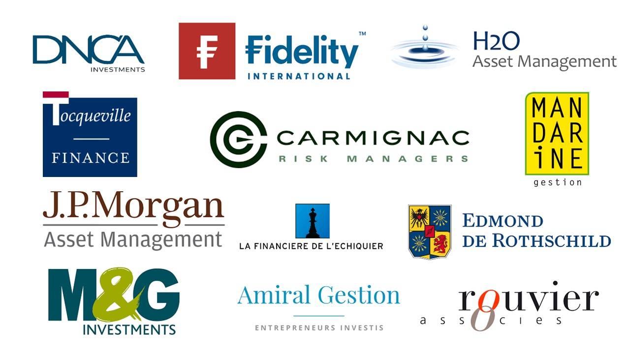 Logo des partenaires financiers